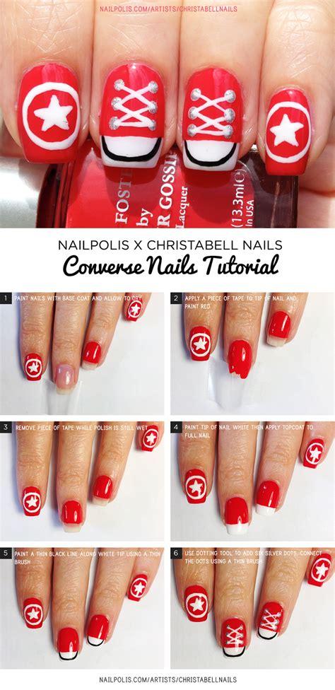 tutorial nail art converse nail art tutorials nailpolis magazine