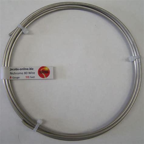Pasmod Ni 80 Wire Awg 22 nichrome 80 resistance wire 8 awg 10 ebay