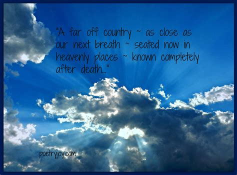heaven poem heaven poetry
