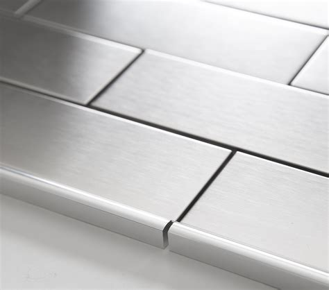 stainless steel metal pencil border edge trim
