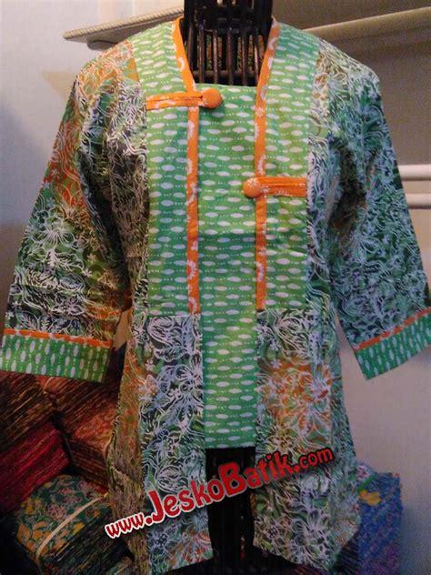 Tunik Batik Shibori blouse batik model kutubaru batik cap b618 batik