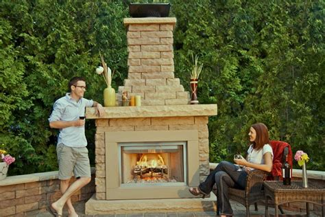 backyard fireplace kits outdoor fireplace kits excellent outdoor fireplace