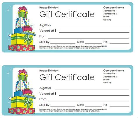 Printable Gift Certificate Pdf | gift certificate template 29 download pdf psd word