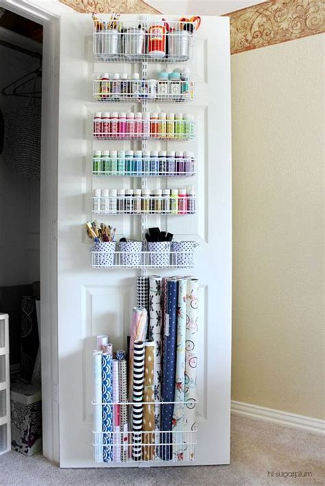 the cabinet door storage 17 best ideas about closet door storage on