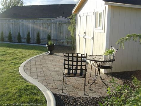 blissfully ever after patio makeover on a budget do a