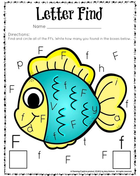 Find By Recognition Preschool Letter Recognition Activities Planning Playtime