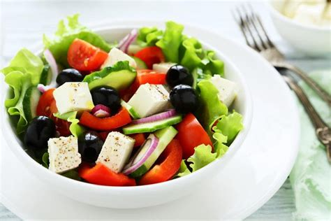 greek salads healthiest greek salad