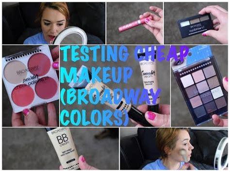 broadway colors testing cheap dollar general makeup broadway colors