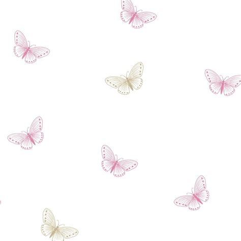 wallpaper pink uk designer selection flutter butterfly designer wallpaper