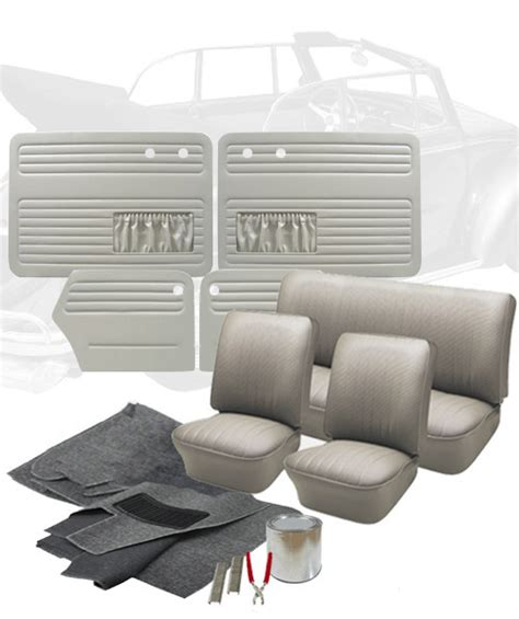 vw upholstery kits 1959 vw bug convertible interior kits jbugs