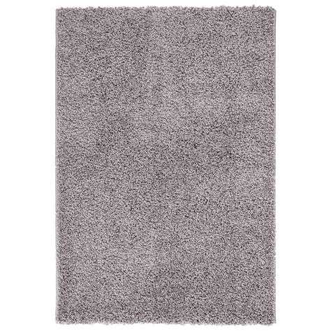 grey rug 5x7 ottomanson contemporary solid grey 5 ft x 7 ft shag area rug shg2763 5x7 the home depot