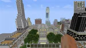 Minecraft New York City Map by Minecraft New York City In Minecraft Pt Youtube