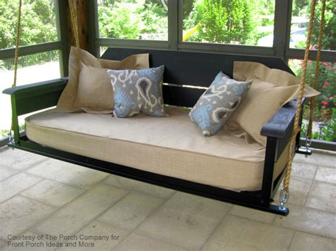 porch swing bed plans perfect porch swing beds for maximum comfort