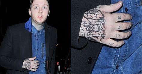new tattoo james arthur chords james arthur gets new tattoo insults danny o donoghue