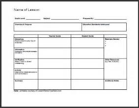 how to make perfect daily lesson plan template
