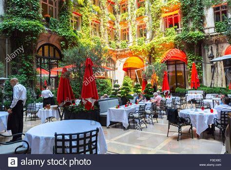 backyard bistro restaurant paris france luxury outside garden terrace french