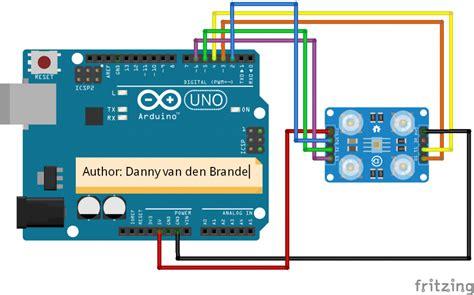 arduino color sensor arduino color sensor tcs230 tcs2300