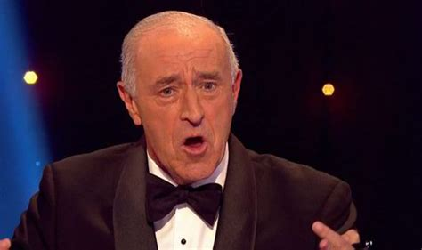 uk len apologises after len goodman swears on strictly come