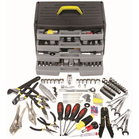 Tool Kit Set Besar Murah 105 pc tool kit with 4 drawer chest