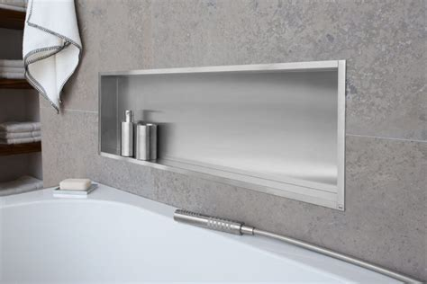 Niche In Bathroom Wall » Home Design 2017