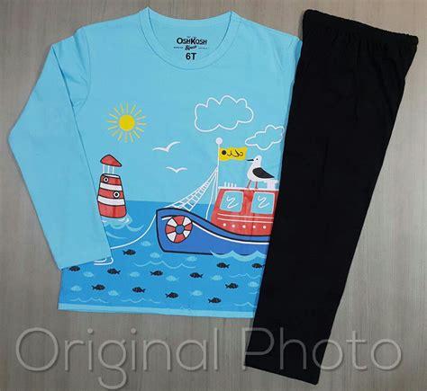 Piyama Salur setelan piyama fishing ellygrosir distributor baju anak murah