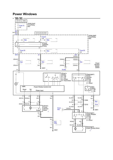 97 accord driver window wiring diagram get free image