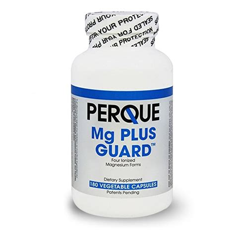 Detox In Guard Perque by Mg Magnesium Plus Guard Perque Products Ancient Purity