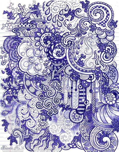 doodle pen one show 25 beautiful doodle works around the world