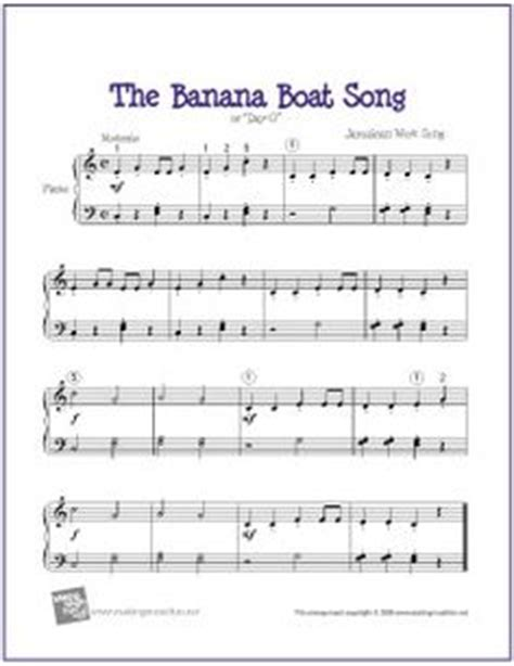 banana boat song notes for violin 1000 images about music on pinterest free sheet music