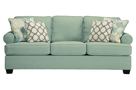 green sleeper sofa seafoam green sofa home furniture design