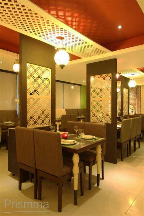 Home Interiors Decorating Ideas restaurant design shaam e avadh baroda pomegranate design
