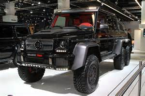 mercedes builds g63 amg 6x6