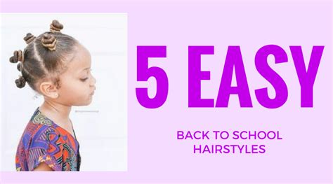 back to school 5 quick and easy hairstyles design essentials premium salon quality hair care