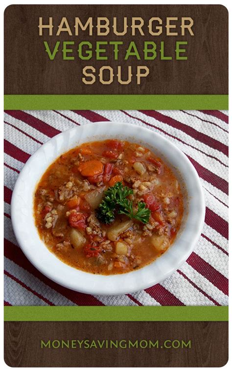 best vegetable soup best 25 hamburger vegetable soup ideas on