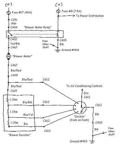 blower motor wiring 94 lx honda tech honda forum