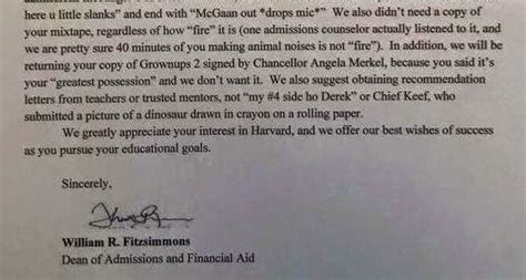 Harvard Decline Letter Rejection Letter From Harvard To An Intending Student Photo Education Nigeria
