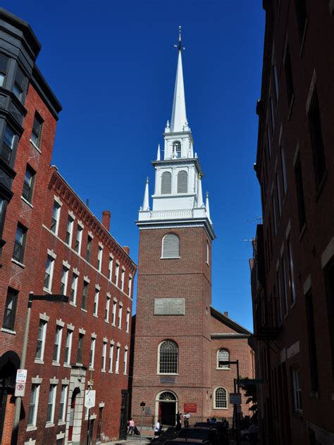 Church In Boston by Greenway Boston Kennedy Greenway Boston