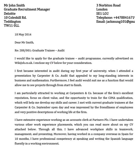 Modelo Carta De Presentacion Curriculum En Ingles Ejemplo De Carta De Presentaci 243 N En Ingl 233 S Cover Letter