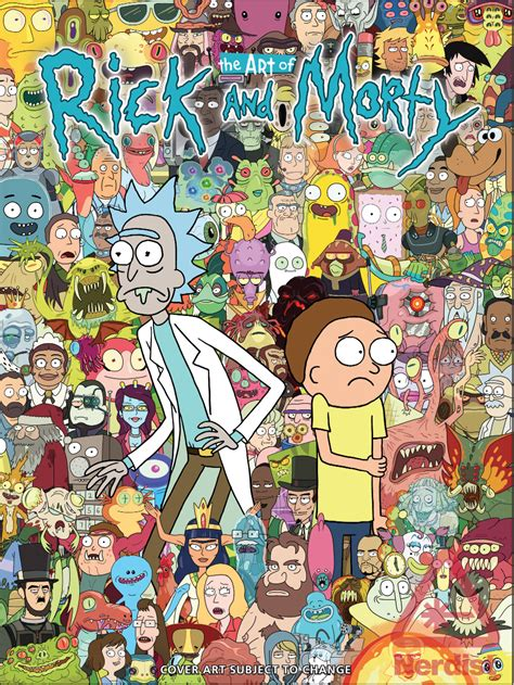 Get Schwifty with THE ART OF RICK AND MORTY (Exclusive