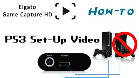 How To Set Up A How To Set Up Elgato Capture Hd For The Ps3
