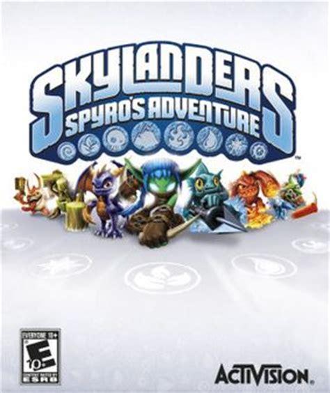 Skylander Spyros Adventures Wii skylanders spyro s adventure