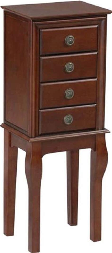 floor model jewelry armoire linon 55176esp 01 kd u diamond jewelry armoire free