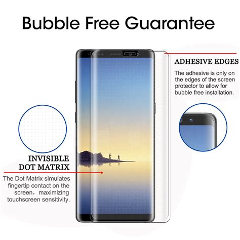 Samsung Note 8 Pelindung Lensa Tempered Glass Clear saapni samsung galaxy note 8 5d curved tempered glass screen protector clear t spr5d samnote8cl