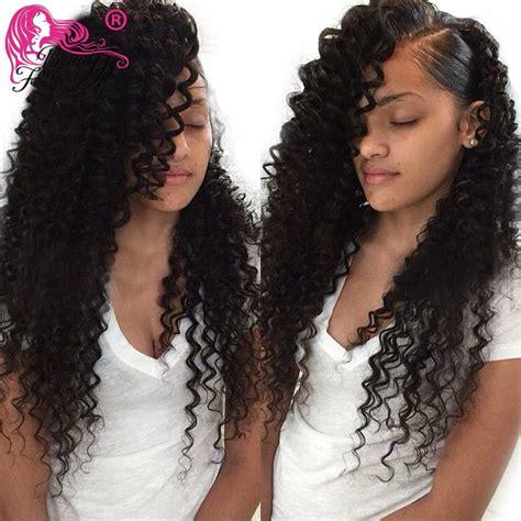 brazillian wave curls hairstyles brazilian deep wave curly virgin hair 7a brazilian deep