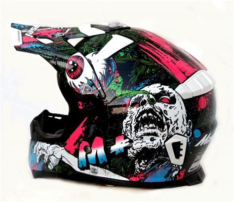 motocross bike helmets masei m white frankenstein monster 316 atv motocross