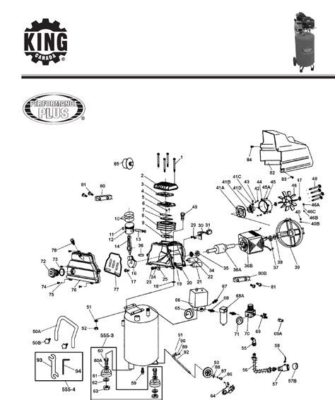 king canada air compressor 8499 user guide manualsonline