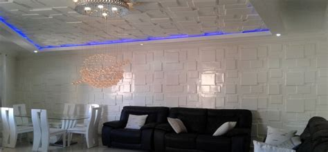Decoration Interieur Plafond by D 233 Coration Faux Plafond Salon Et Chambre Dakar S 233 N 233 Gal