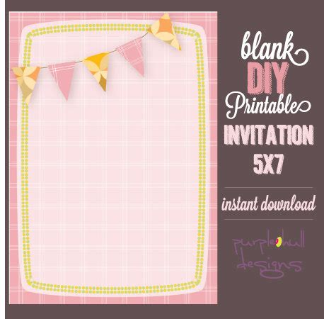 blank printable invitation cards interesting blank printable invitation cards 21 with