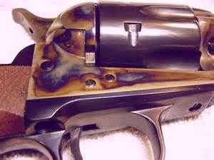 color hardening what did they do to this ar15 to make it look this way