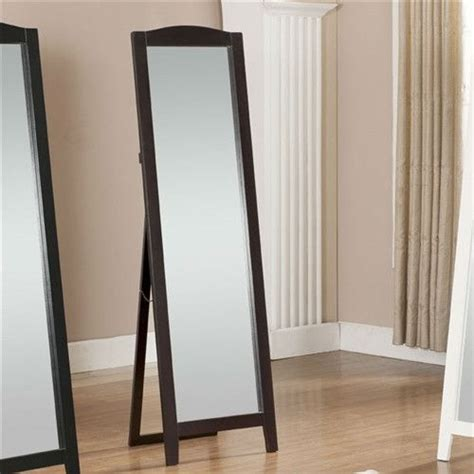 functional classic full length leaning floor mirror with